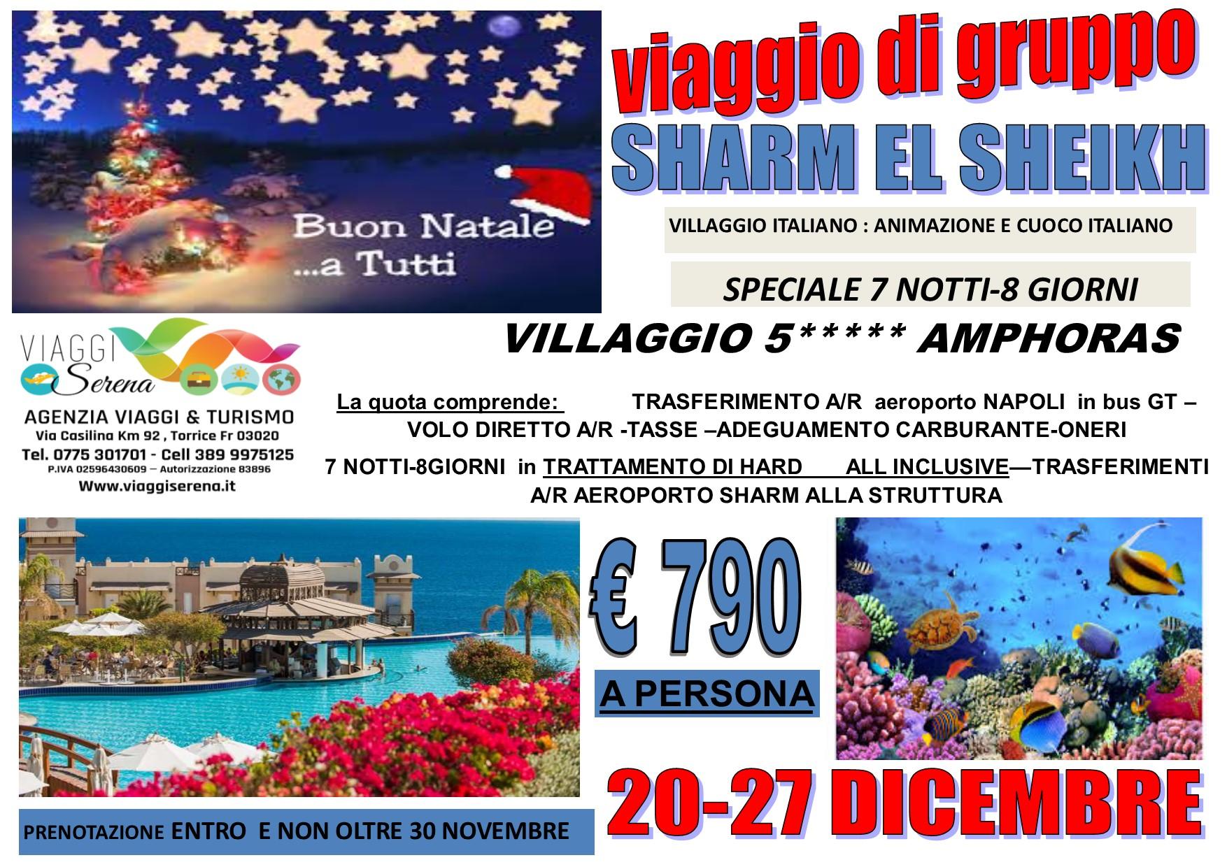 Viaggi di Gruppo: Speciale Natale SHARM EL SHEIKH 20-27 Dicembre € 790,00