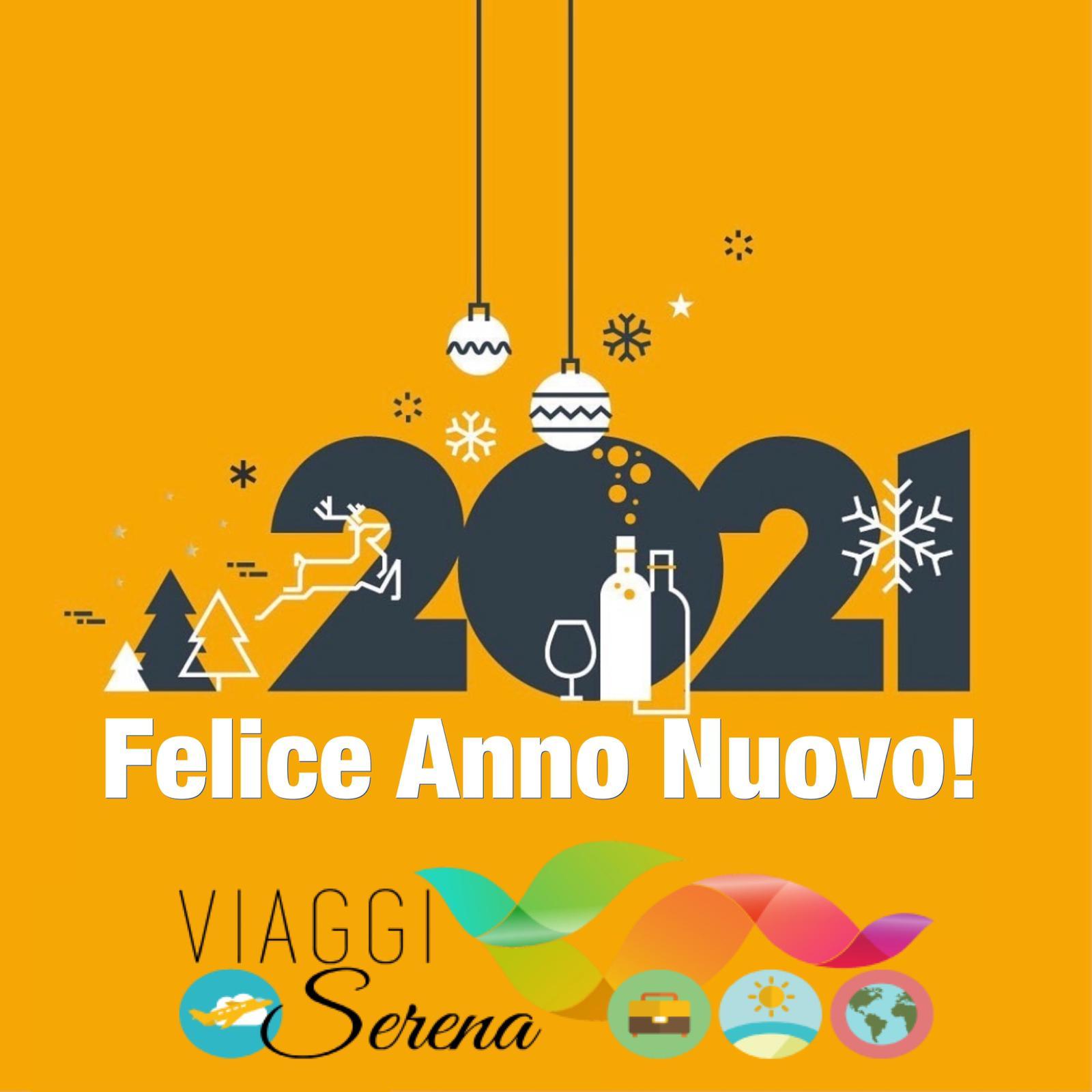 Felice anno Nuovo da tutta l'Agenzia Viaggi Serena!