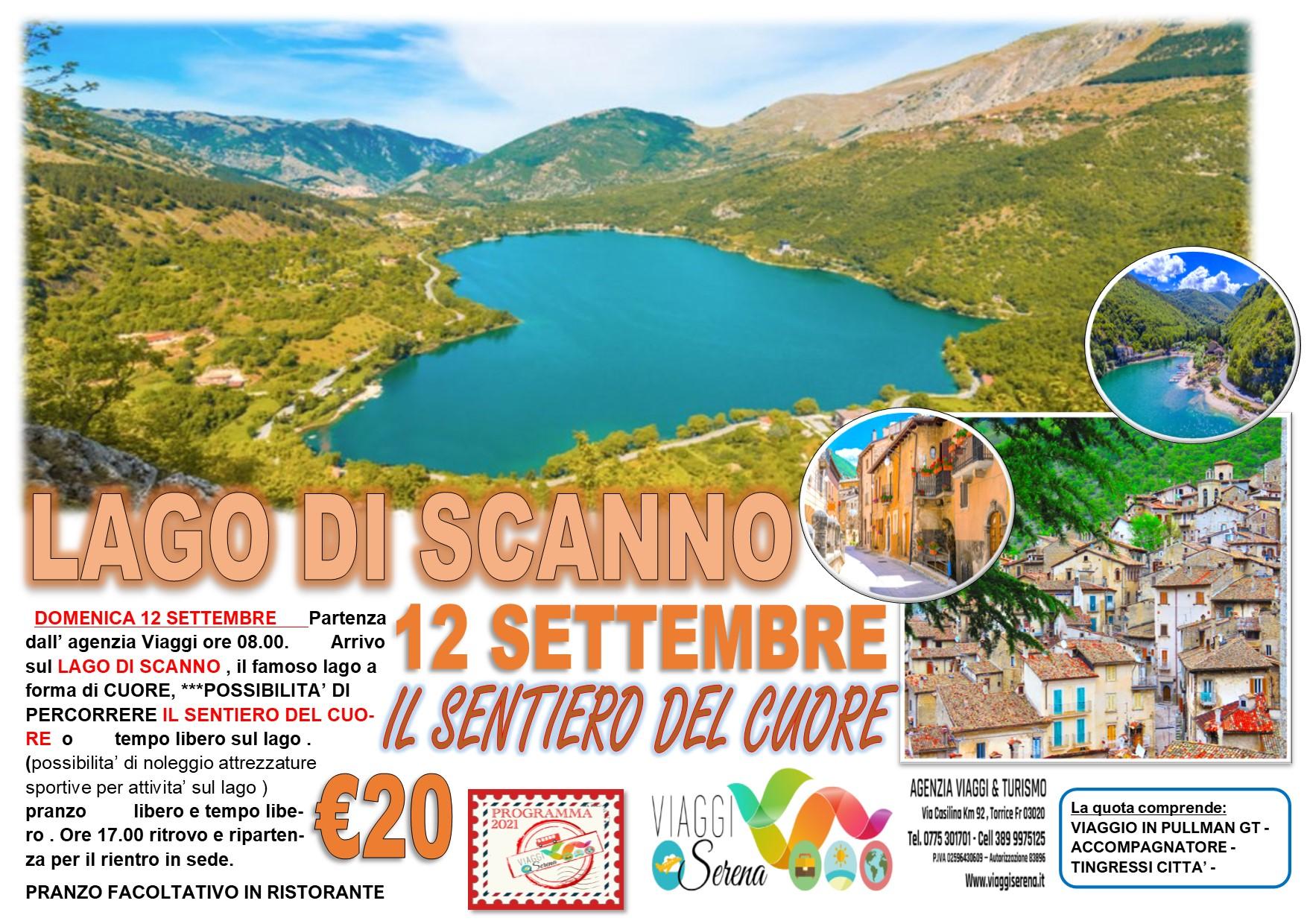 Viaggi di Gruppo: Lago di Scanno 12 Settembre € 20,00